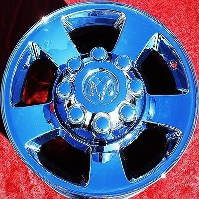OF 4 NEW 17 DODGE RAM 2500 3500 OEM FACTORY CHROME WHEELS RIMS 2187
