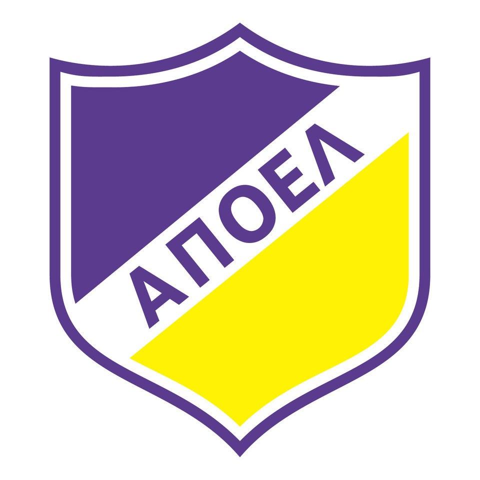 Apoel Nicosia FC Vinyl Wall Football Logo Sticker Decal Emblem Crest