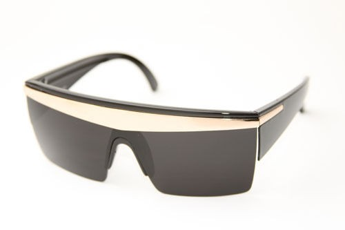 GOLD CROWN GRADIENT LENS LADY GAGA STYLE SUNGLASSES   CHOICE OF FRAME