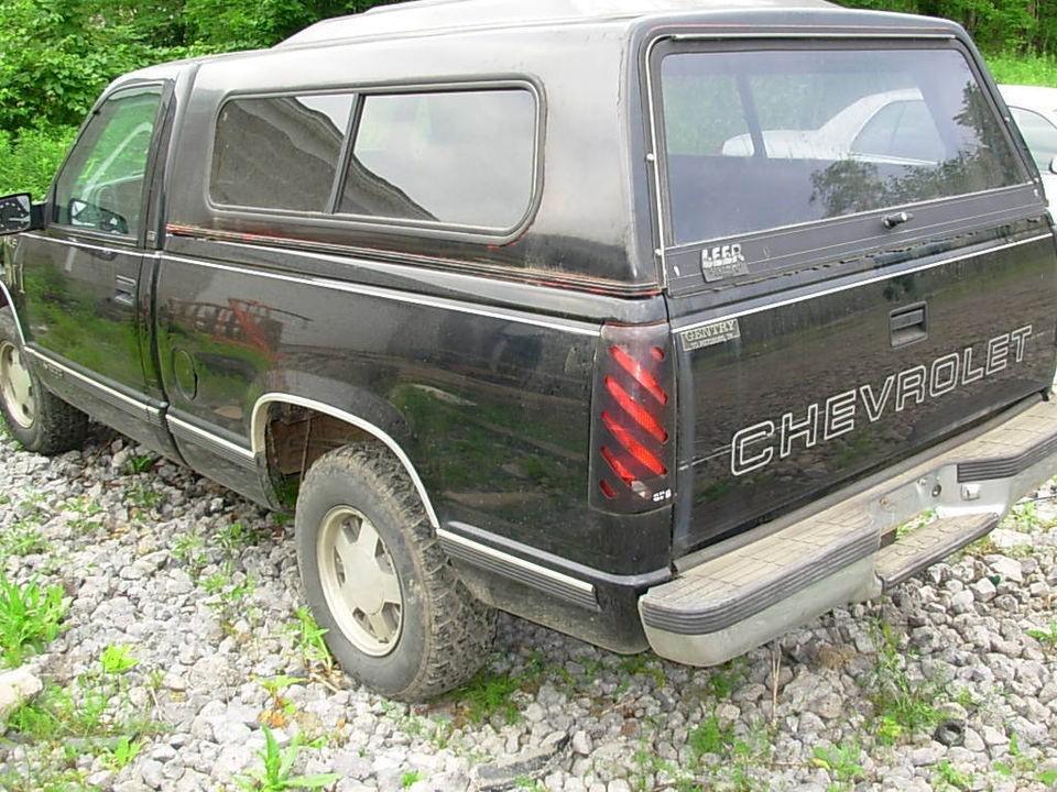 97 96 98 chevy 1500 pickup suburban tahoe grey fuse box cover rh popscreen com 98 Suburban Interior 88 Suburban