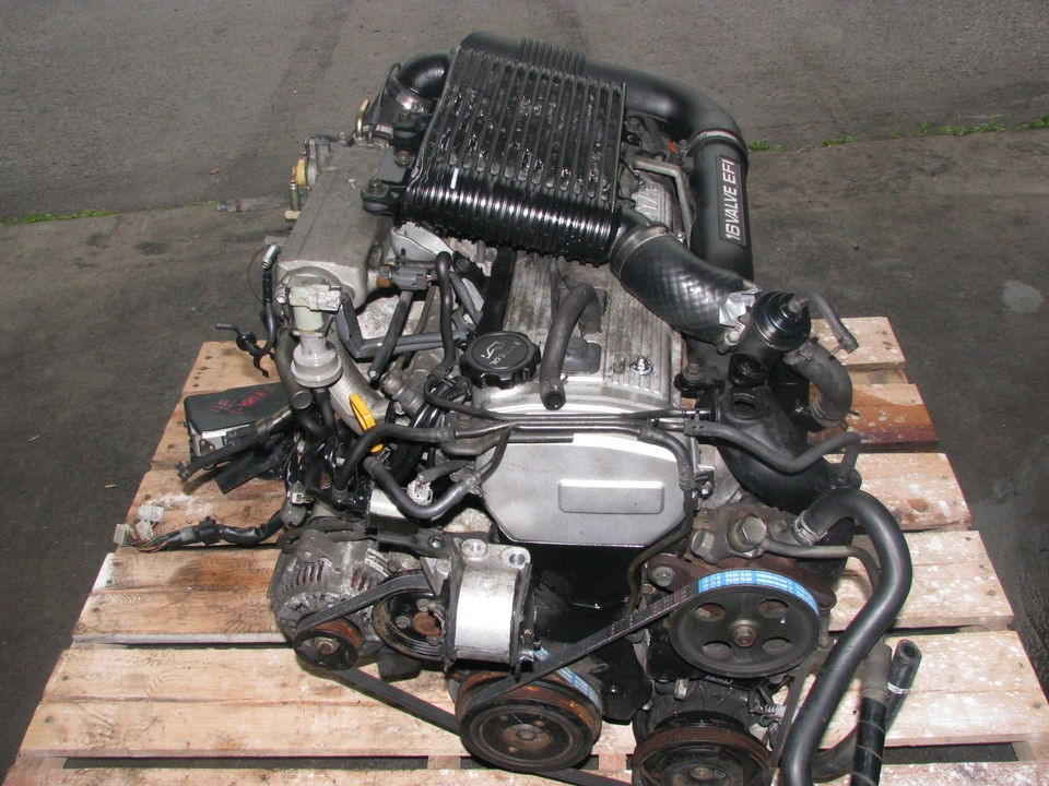JDM Toyota Starlet Tercel Paseo 4EFTE Turbo Engine, Auto Trans, ECU