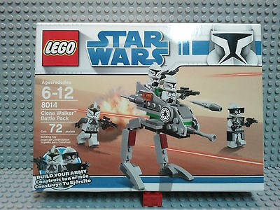 LEGO **STAR WARS** 8014 Clone Walker Battle Pack Brand New Sealed