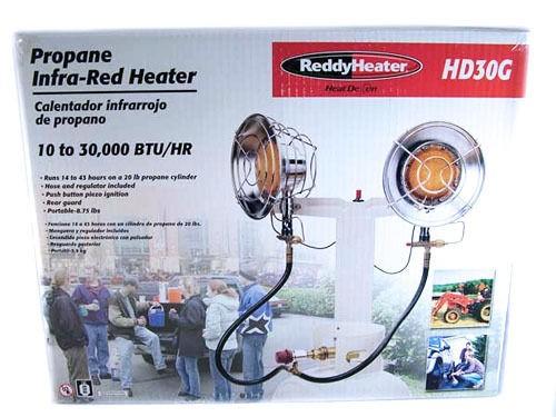 Reddy Heater Heat Demon Propane Infra Red Space Heater HD30G Brand New