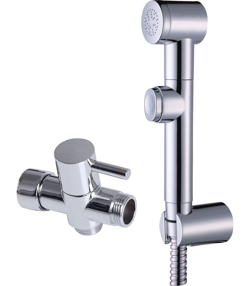 adapter+ABS Hand held Bidet Toilet Shattaf Kit Sprayer Shower Head Set