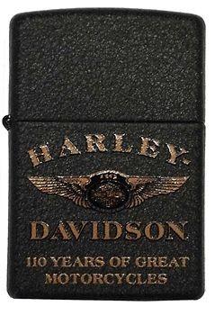 Harley Davidson Limited Edition 110th Anniversary Zippo Lighter. 28417