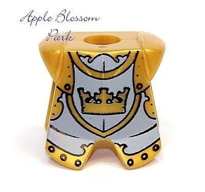 lego knights minifig armor