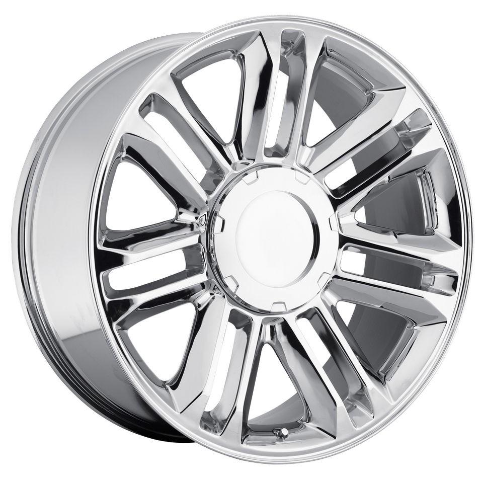 22 Cadillac Escalade Platinum Wheels Rims Set Chrome