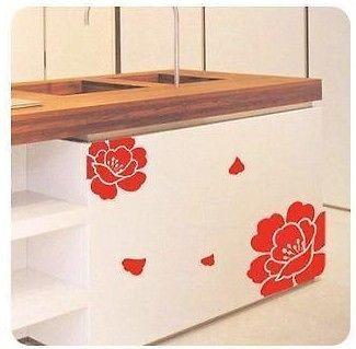 various colors) Locker/Cabinet Sticker Decor Mural Art Wall Sticker