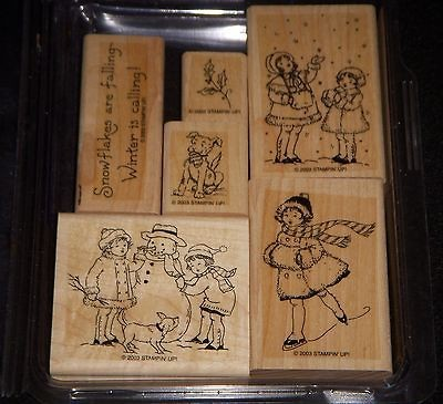 30305 Winter is Calling Rubber Stamp Set From Stampin Up