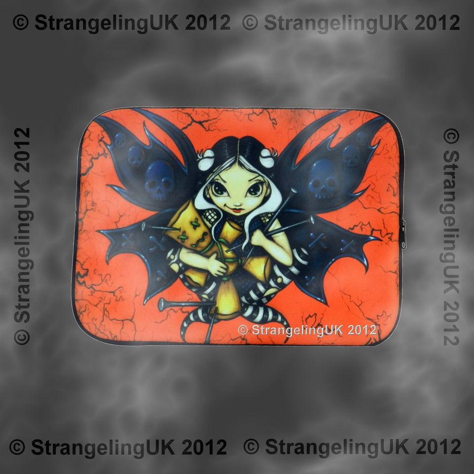 VOODOO** Goth Fantasy Art Laptop Sleeve By Jasmine Becket Griffith