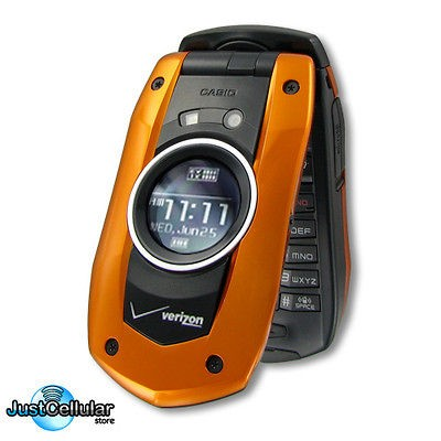 BRAND NEW Casio GzOne Boulder GPS Water Proof Cell Phone No Contract