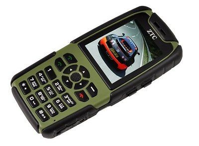 Green Unlocked Military Tough Waterproof GSM Cell Phone AT&T TMobile