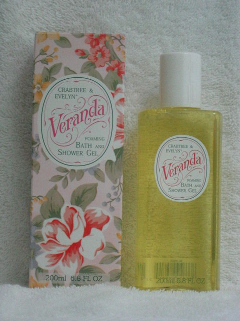 VERANDA Foaming Bath & Shower Gel CRABTREE & EVELYN New in Box RARE