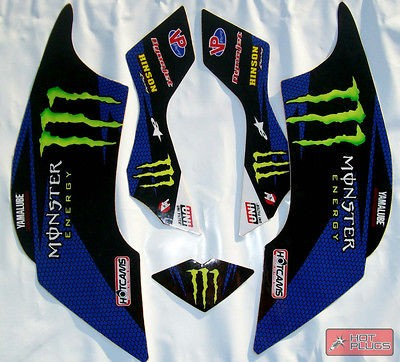 GRAPHICS FOR YAMAHA RAPTOR 660/660R DECALS R660 STICKERS