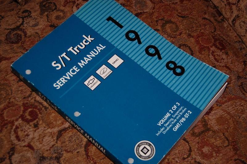 1998 Chevy Truck Blazer GMC Envoy ST S/T Service Manual #2 Cheap