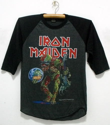 New Iron Maiden singlet tank top shirt vintage punk rock band tour