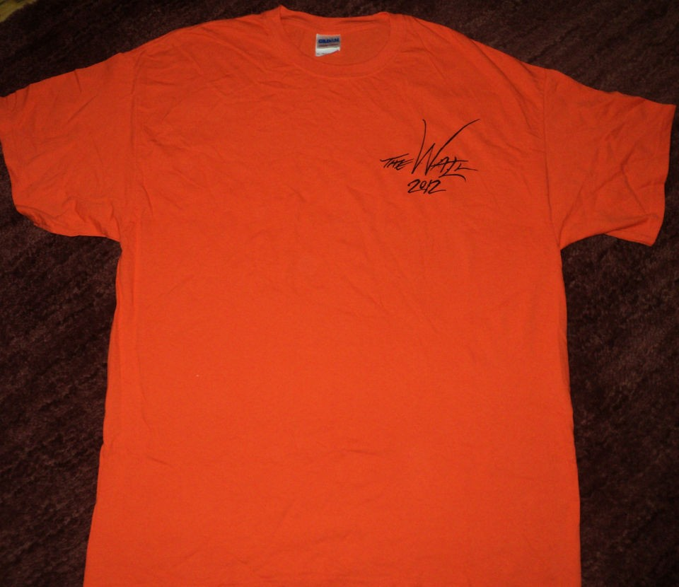 Roger Waters The Wall Concert Tour Crew Roadie T Shirt XL Pink Floyd