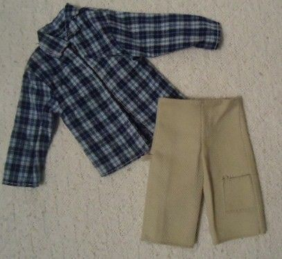 FAMILY PREGNANT BARBIE MIDGES HUSBAND ALAN OUTFIT KEN CLOTHES (Y11