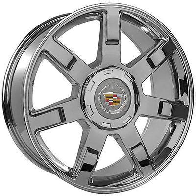 22 inch cadillac escalade chrome wheels rims