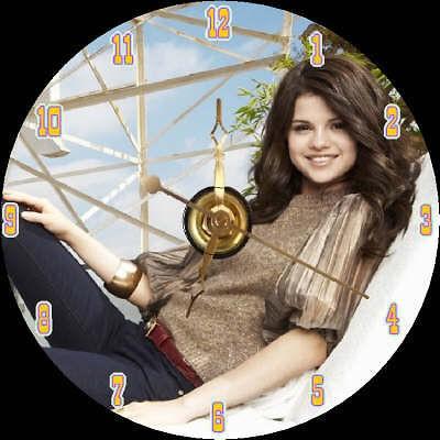 brand new singer actress selena gomez cd clock time left