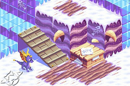 Spyro the Dragon Attack of the Rhynocs Nintendo Game Boy Advance, 2003