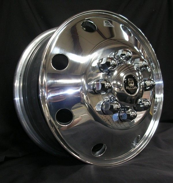 17 X 6.5 CHEVY GMC DUALLY FORGED ALCOA WHEELS FIT 01 UP GM APPS