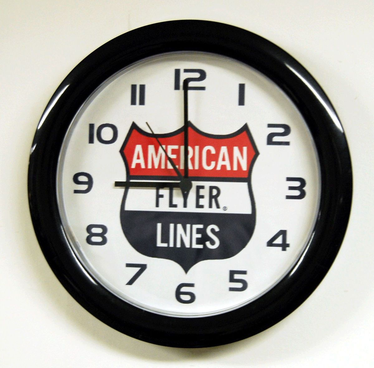 American Flyer Trains Battery Operated Wall Clock