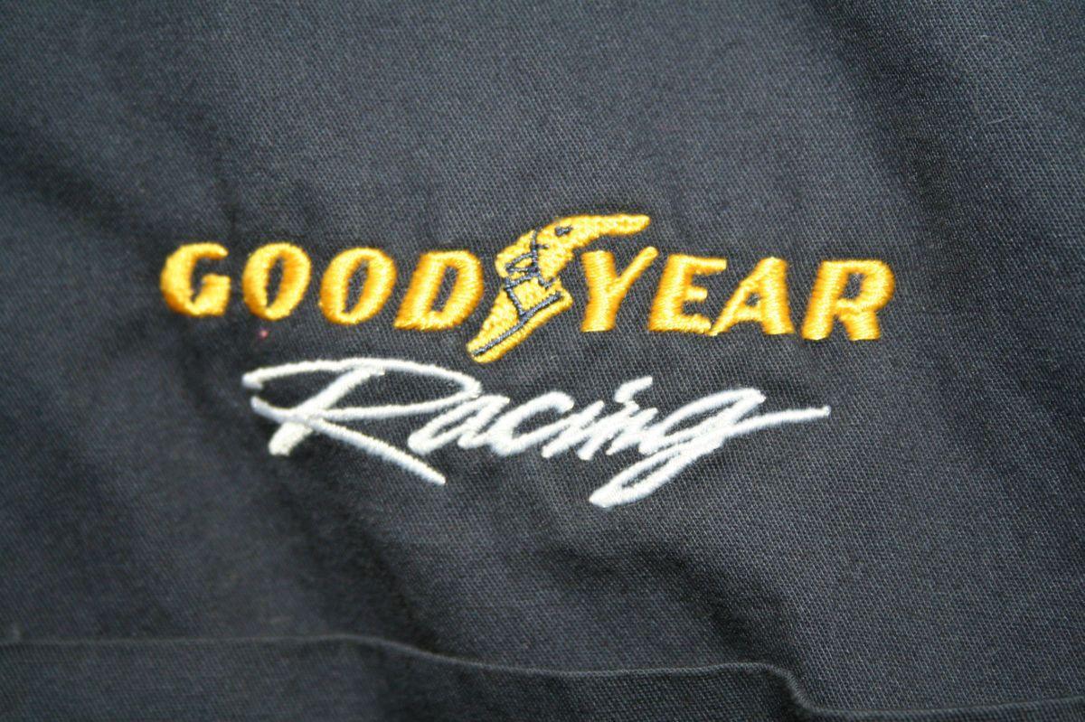 Cool Goodyear Racing Shirt   Nascar Indy Hot Rod Rat Rod Auto Tires