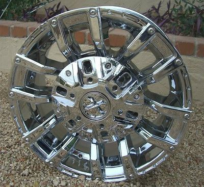 17 Inch CHROME RIMS Wheels Chevy GMC Sierra 1500 Silverado Tahoe 6 Lug