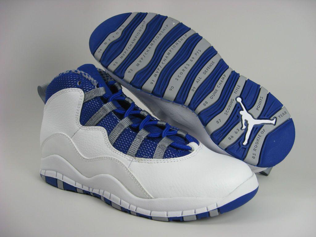Whi Kids 10 Nike Jordan Retro 487215 107 WEDH29I