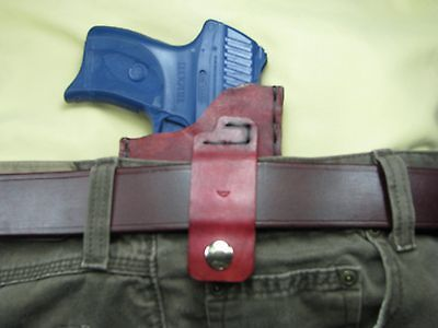 IWB Holster for Ruger LC9 with the Crimson Trace or Lasermax