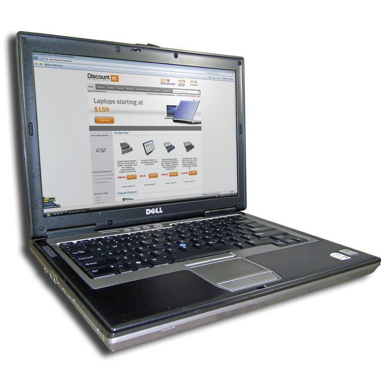 Dell Latitude D630   Intel Core 2 Duo T7500 2.2 GHz   2GB DDR2 RAM