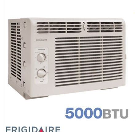 Frigidaire 5 000 BTU thru Window Air Conditioner Unit