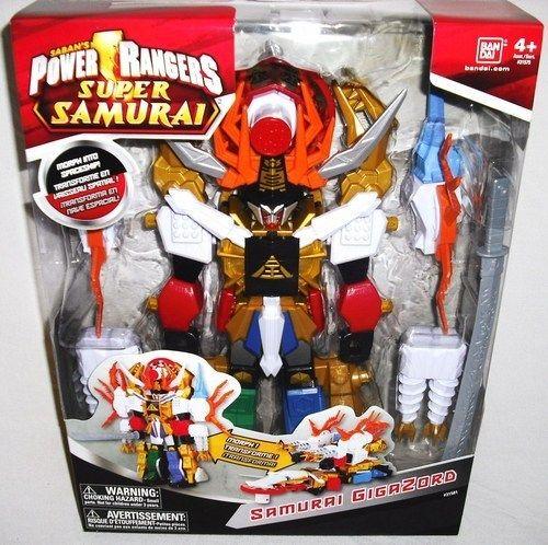 Power Rangers Samurai Deluxe Megazord Gigazord Action Figure Mega Zord