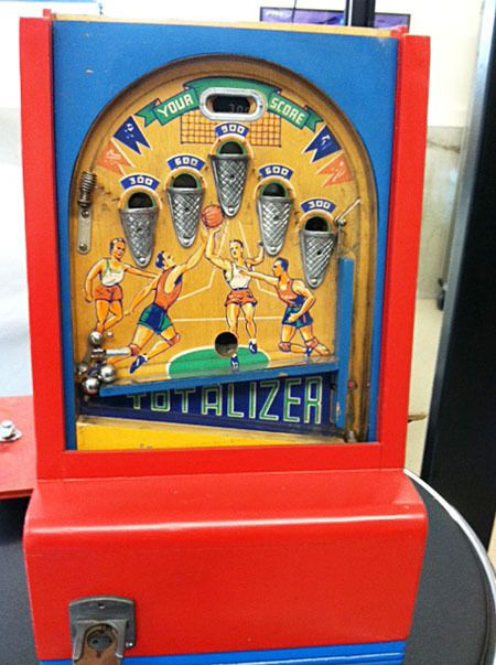 1940 Totalizer Basketball Penny Arcade Skill Game