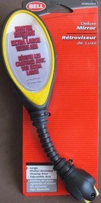Bell DELUXE BICYCLE Bike MIRROR w ADJUSTABLE Arm & EXTRA LARGE VIEWING