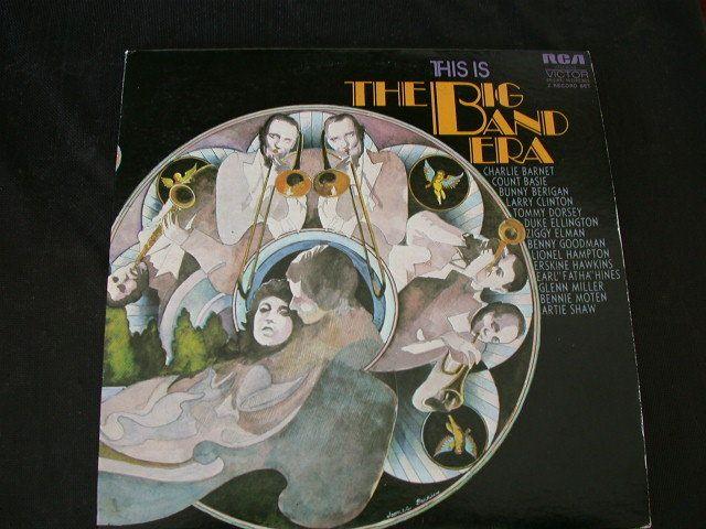 Big Band Era RCA Victor Jazz 2 LP Record Basie Hawkins