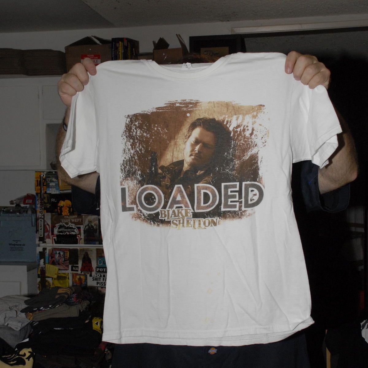 Blake Shelton Loaded T Shirt Country Music Nashville CMT Star Look