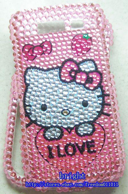 kitty BLing Full Case Cover For Samsung Galaxy S Blaze 4G T769 #2