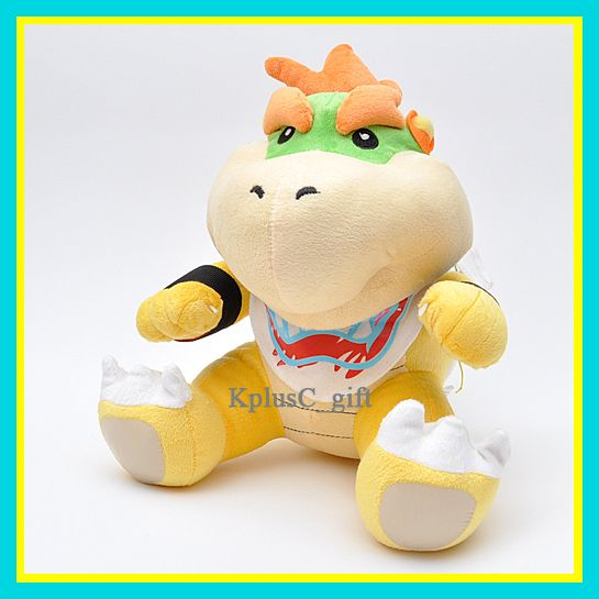 S174 Super Mario Bros Plush Doll Jr Bowser 12