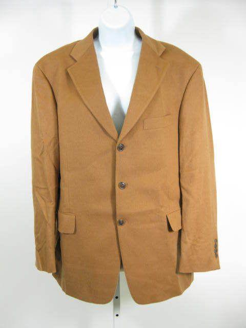 Arnold Brant Brown Cashmere Sports Coat Jacket Blazer