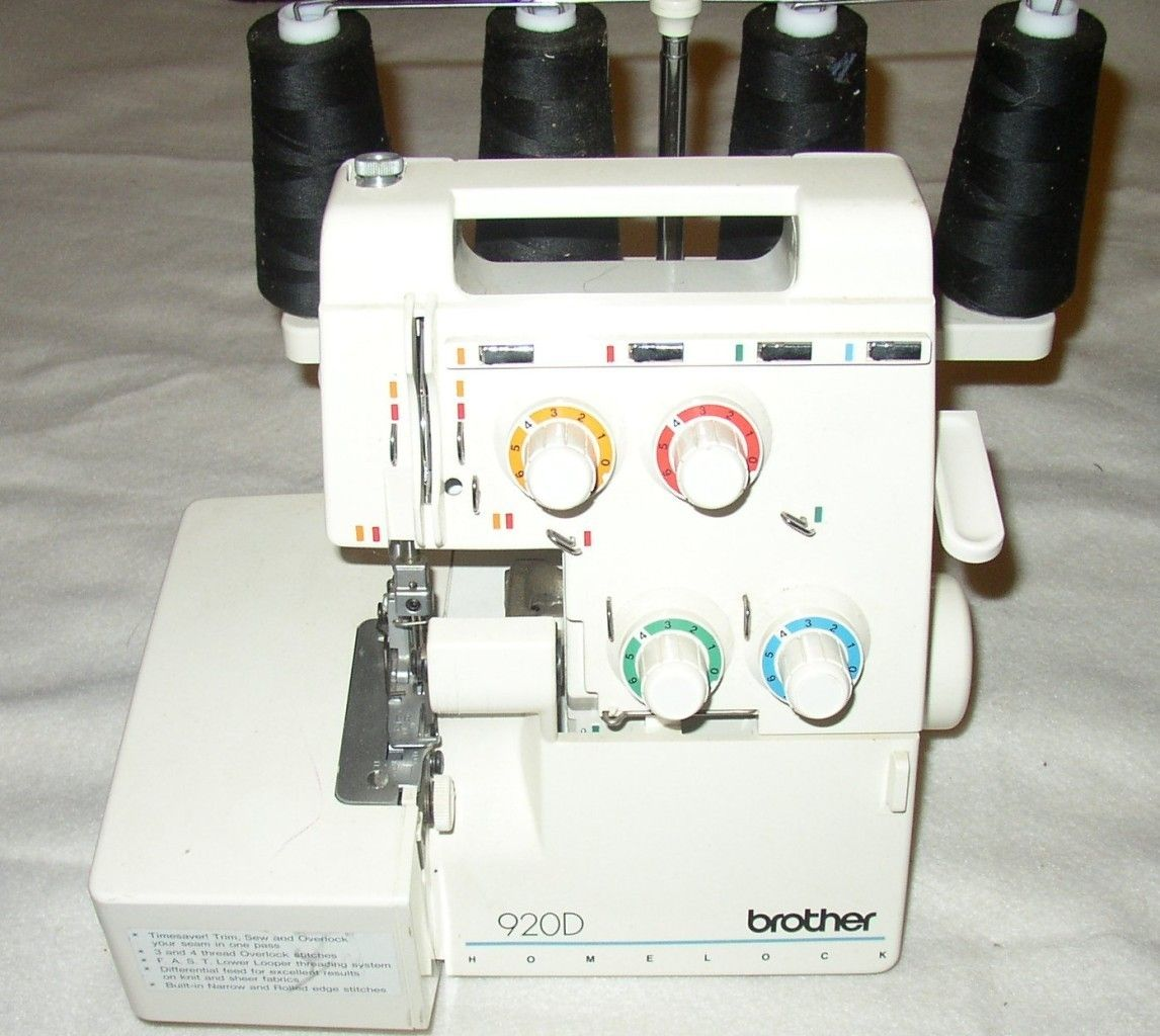 brothers overlock sewing machine