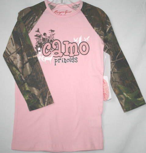 ... Womens Shoes Source · Pink Camo Princess Realtree Camouflage Girls Shirt d93cb4c71