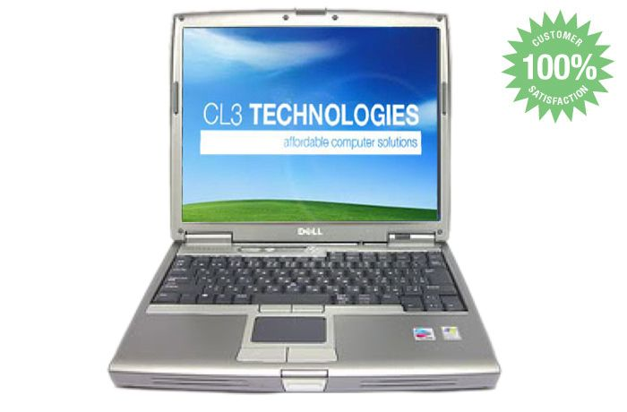 DELL LATITUDE D600 LAPTOP P4 M 1.4Ghz XP 3 WIFI NOTEBOOK COMPUTER