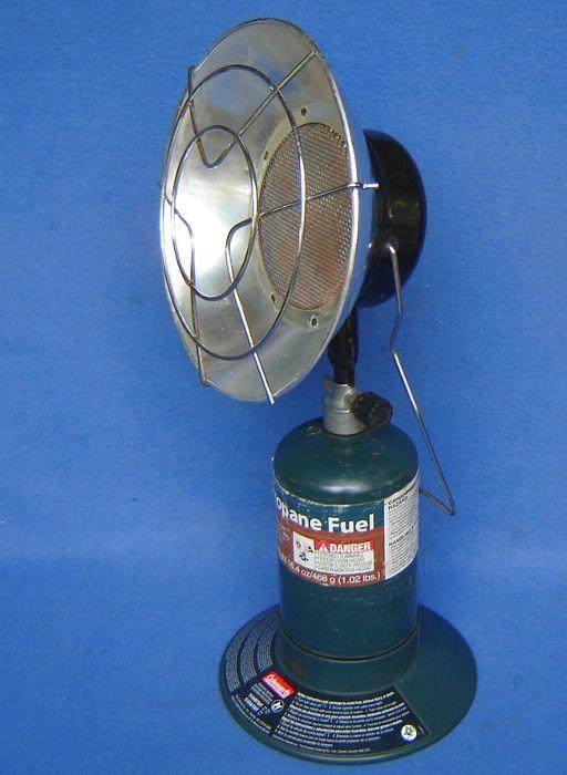 Coleman Mr Heater Portable 5000 Radiant Propane Heater Golf Cart