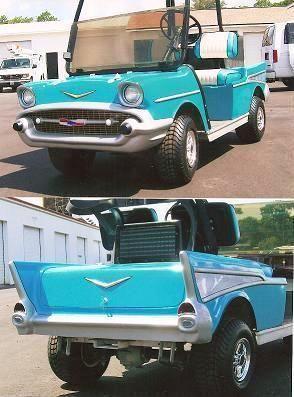 Golf Cart Bodies Kits Do it Yourself Kits EZ GO Club Car 57 Chevy