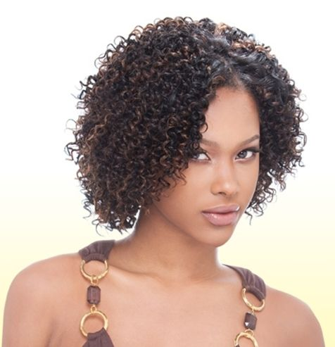 Jerry Curl 3pcs Curly Human Weave Extension Short Cut 100 Human Hair