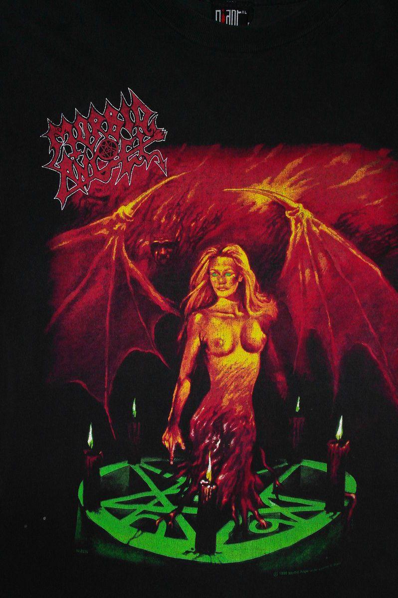 Angel Vintage Shirt Carpathian Forest Death Deicide Slayer