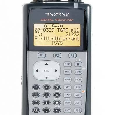 Radio Shack Pro 106 APCO P25 Digital Trunking Scanner