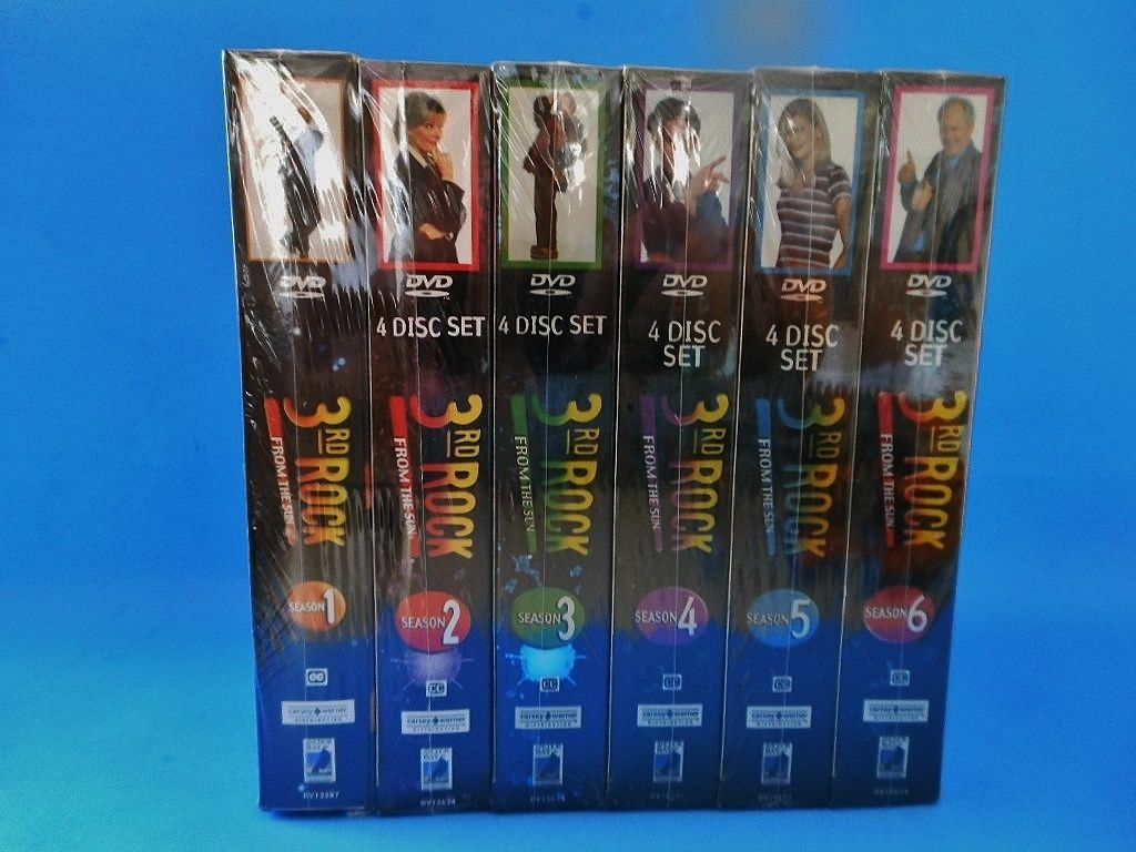 3rd ROCK FROM THE SUN THE COMPLETE SERIES DVD 2010 24 Disc Set FREE